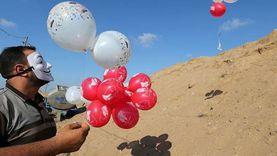 «سواعد الانتفاضة» في غزة: مستمرون في إطلاق البالونات تجاه المستوطنات
