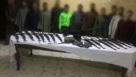 """بعد فيديو """"الجرينوف"""".. القبض على 59 مسلحا وضبط 114 قطعة سلاح بالصعيد"""