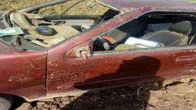 إصابة شخصين في انقلاب سيارة ملاكي بجنوب سيناء