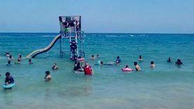إنقاذ مصطاف من الغرق وإصابة طفل بشواطئ الإسكندرية