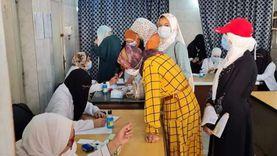 الكشف الطبي على 2610 مرضى خلال أسبوع بمستشفى الجلدية في كفر الشيخ