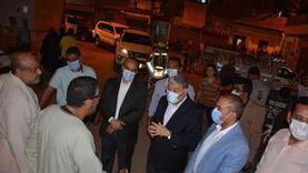 غلق محل وتحرير محاضر لمواطنين خالفوا الإجراءات الوقائية بالمنيا