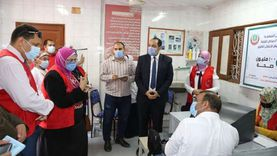 بدء تنفيذ أعمال المبادرة الرئاسية لفحص علاج الأمراض المزمنة بالمنوفية