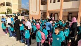 أولياء أمور يطالبون بنقل التلاميذ إلى المدارس الأقل كثافة بشمال سيناء