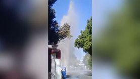 انفجار ماسورة صرف صحي  في مركز نقادة بمحافظة قنا