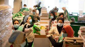 حملة 100 مليون وجبة تبدأ توزيع الطرود الغذائية في مصر