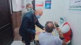 وكيل صحة الشرقية يتابع أعمال تطعيم المواطنين بلقاح كورونا
