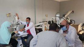 الكشف والعلاج المجاني لـ310 مواطن بقافلة طبية ببني سويف