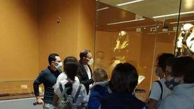 """""""رواد الجزيرة"""" يزورون متحف شرم الشيخ.. والمدير: قدموا مقترحات للتطوير"""