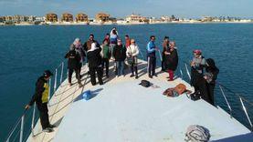 من «روميل» إلى «الغرام».. «اليخوت» نزهة الأسر على شواطىء مرسي مطروح