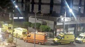"""""""الرعاية الصحية"""" تنفى نقل 33 مصاب كورونا من بورسعيد للإسماعيلية"""