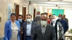 برلمانيو أسيوط يتفقدون مركز التطعيم بلقاح كورونا في «الوليدية»