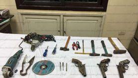 تجديد حبس شخصين لإدارتهما ورشة لتصنيع الأسلحة في كفر الشيخ