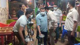 تغريم 22 مواطنا لعدم ارتداء الكمامة وفض سرادق عزاء بالشرقية