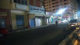 لليوم الثانى.. حملات في مدن مطروح لمتابعة غلق المحال والمقاهي