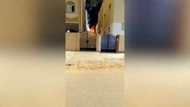 12 سيارة إطفاء للسيطرة على حريق مصنع بويات في العاشر من رمضان