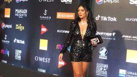 إطلالة ساخنة لـ رانيا يوسف في مهرجان الجونة السينمائي