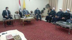 محافظ شمال سيناء يستقبل قافلة الأزهر: أحد أضلع مثلث القضاء على الإرهاب