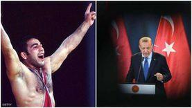 مصارع أولمبي حلقة الوصل السوداء بين أردوغان والإرهاب