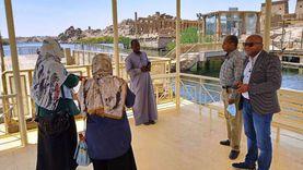 أسوان تراجع جاهزية المواقع الأثرية لاستقبال السياحة الخارجية