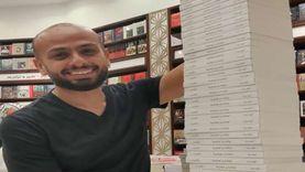 """أحمد مراد يوقع ألف نسخة من """"لوكاندة بير الوطاويط"""" بمكتبات القاهرة"""