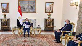 السيسي يستعرض مستجدات القضية الفلسطينية مع ملك الأردن