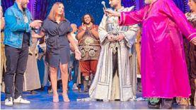 أنغام تشيد بمسرحية «ياما في الجراب يا حاوى» لـ يحيي الفخراني