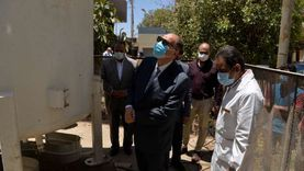 محافظ أسيوط يتفقد أعمال إنشاء مولد أكسجين في مستشفى الإيمان العام