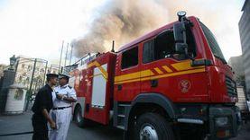 السيطرة على حريق نشب في منزل بأسوان