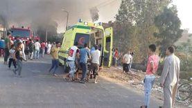 إصابة 3 أشخاص باختناق في حريق منزل بالشرقية