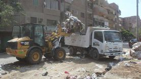 رفع 45 ألف طن مخلفات وقمامة بالجيزة في عيد الأضحى