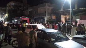 الحماية المدنية تسيطر على حريق شب في محل تجاري بالقصير