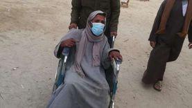 لم يستسلموا للإعاقة.. إقبال كبير من ذوي الهمم على الانتخابات بالفيوم