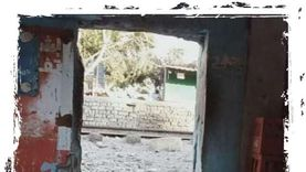 غلق معابر غير قانونية بسور السكك الحديدية بشبين القناطر