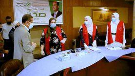 """محافظ الغربية يشهد فعاليات اليوم الثاني لمبادرة """"اللقاح أمان"""""""