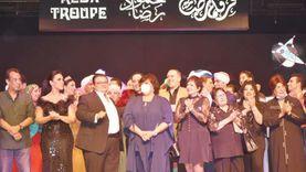 صور.. ليلة فى حب محمود رضا فارس الفنون الشعبية بمسرح البالون