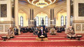الرئيس السيسي يلتقي بكبار قادة القوات المسلحة عقب أدائه صلاة الجمعة