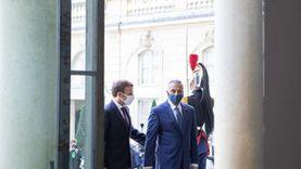 ماكرون يغرد بالعربية على هامش لقائه برئيس وزراء العراق: سنهزم الشر