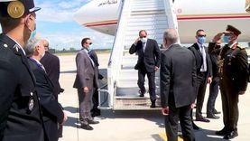 اللحظات الأولى لوصول الرئيس السيسي إلى باريس «صور»