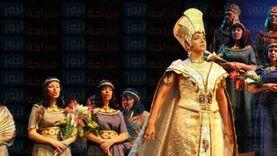 حفل لأوبرا عايدة على مسرح النافورة بمناسبة مرور 150 عاما على ميلادها