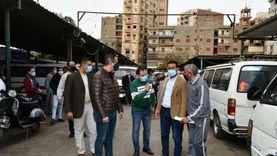 تحرير 9 غرامات فورية لعدم ارتداء كمامات بمواقف سيارات المنيا