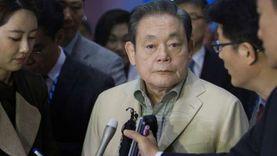 """وفاة رئيس مجموعة """"سامسونج"""" عن عمر يناهز 78 عاما"""