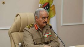 حفتر يجتمع بقيادات الجيش الليبي لبحث التطورات العسكرية
