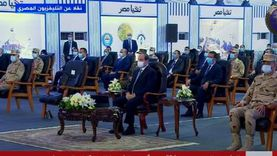 السيسي يفتتح مشروعات قومية في بورسعيد عبر «الفيديو كونفرنس» (صور)