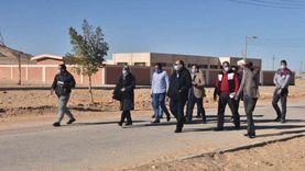 محافظ أسيوط يتفقد قرى الظهير الصحراوي بمركزي القوصية وديروط