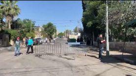 حي الشيخ جراح الآن.. الاحتلال يحاصر الفلسطينيين بالحواجز الأسمنتية