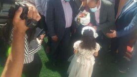 رئيس مياه القناة ومحافظ الإسماعيلية يفتتحان محطة صرف صحي «المخاضة»