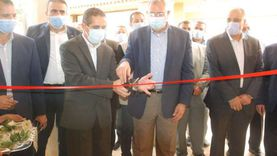 """""""القصير"""" و""""رحمي"""" يفتتحان مركز الارشاد الزراعي بصناديد محافظة الغربية"""