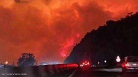آخر مستجدات حريق تنومة في المملكة العربية السعودية