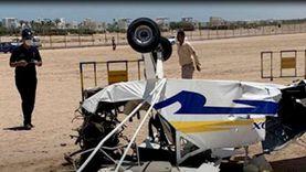 تفاصيل جديدة فى سقوط الطائرة بمطار الجونة